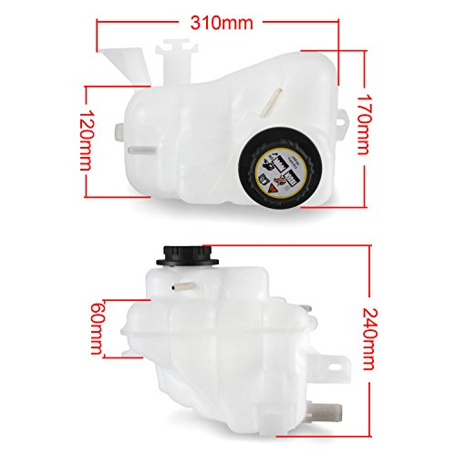 Coolant Reservoir Expansion Tank 1F1Z8A080AA For Ford Taurus Mercury Sable 3.0L OHV Engine From Madlife Garage