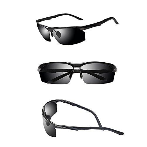 Femmes De Lunettes Noir pour Anti Hommes TESITE Protection Et UV Lunettes 100 Soleil PolariséEs De 0qdfxwfz