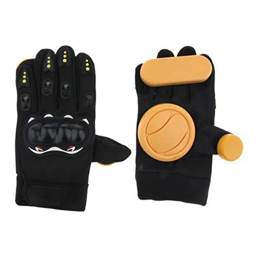 Baoblaze 스케이트 보드 슬라이드 장갑 롱 보드 드리프트 브레이크 손목 보호 기준 선택 / Baoblaze Skateboard Slide Gloves Longboard Drift Brake Palm Protect All 2 Selections