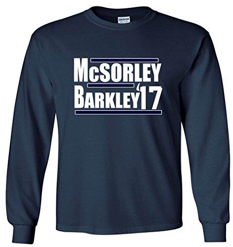 The Silo LONG SLEEVE NAVY PSU McSorley Barkley 17 T-Shirt