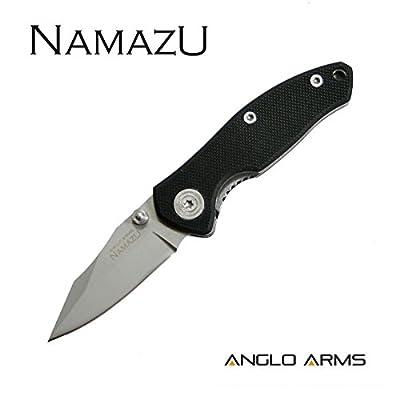 """'Couteau de poche """"namazu Survival Couteau d'extérieur quotidien Couteau pliant couteau Longueur de la lame: 5.1cm"""