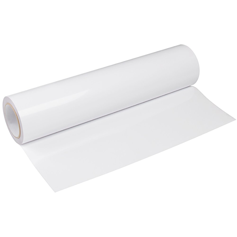 Heat Transfer Vinyl HTV for T-Shirts 12Inches by 25 Feet Rolls White