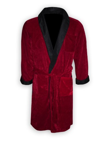 Playboy Smoking Jacke/ Kostüm Hugh Hefner mit Gürtel & Pfeiffe (L)