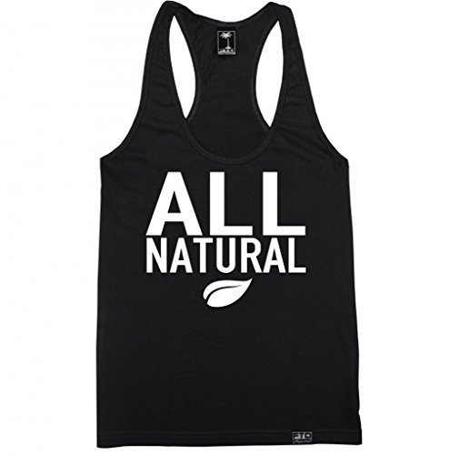 FTD Apparel Women's All Natural Racerback Tank Top - Large (Ftd Natural)