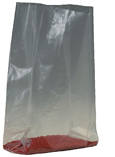 "Bauxko 8"" x 3"" x 15"" Gusseted Poly Bags, 3 Mil, 50-Pack (xPB1663-50) hot sale"