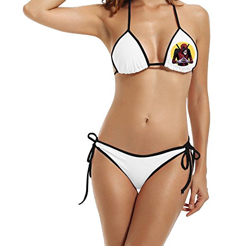 Womens Dead Joke Comic Marvel Hero Deadpool Swimwear