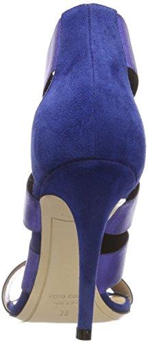 Dei Mille Damen 4121029 Peeptoe Sandalen Blau (electric 040)