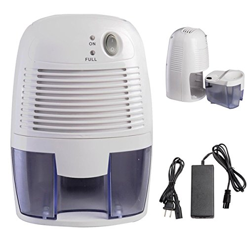 Mini Portable Quiet Electric Home Drying Moisture Absorber Air Room Dehumidifier by unbrand