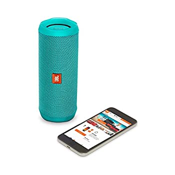 Jbl Flip 4 Waterproof Portable Bluetooth Speaker (Teal) 3