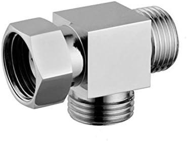 Purrfectzone Toilet Sprayer T-Connector, Chrome