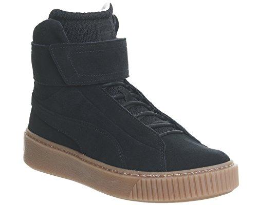 Puma Mid Noir Mode Ow Platform Femme Sneakers Wms Chaussures EFqrFw
