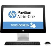 HP Pavilion 23 inch Touchscreen Full HD All-in-One Flapship Desktop, 4th gen Intel Core i7-4785T Quad-Core, 8GB RAM, 1TB HDD, DVD, Windows 10 Home (Certified Refurbished)