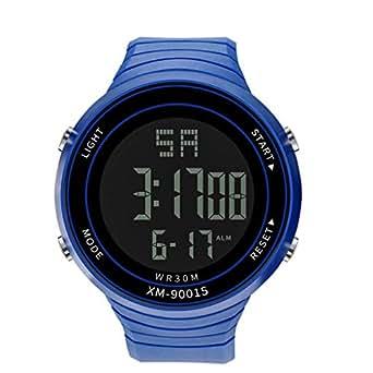 Coconano Relojes Hombre, Hombres De Lujo Analógico Digital Militar Deporte Led Impermeable Reloj De Pulsera Nuevo: Amazon.es: Ropa y accesorios