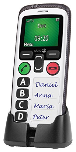 NRS Doro Secure 580 Simple Mobile Phone with Large colour display and GPS...
