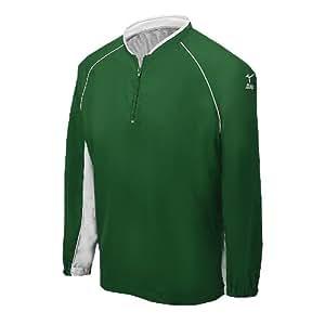 Mizuno Prestige G4 Long Sleeve Batting Jersey, Forest, 3X-Large