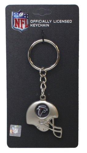 Atlanta Falcons - NFL Silver Helmet Keychain