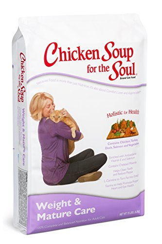 Chicken Soup for the Soul Weight & Mature Care Cat 15lb