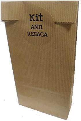 50 Bolsas Kraft KIT ANTI RESACA