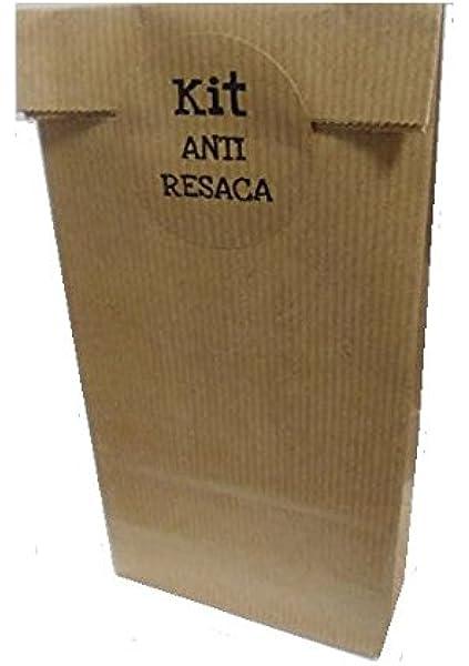 50 Bolsas Kraft KIT ANTI RESACA: Amazon.es: Oficina y papelería
