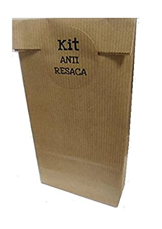 50 Bolsas Kraft KIT ANTI RESACA: Amazon.es: Oficina y papelería