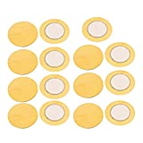 Aexit 15pcs 27mm Diameter Piezo Discs Piezoelectric Ceramic Copper Buzzer Film Gasket