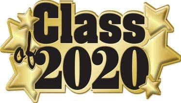1 Pack Prime Class of 2020 Pins Gold Class of 2020 Graduation Star Pins