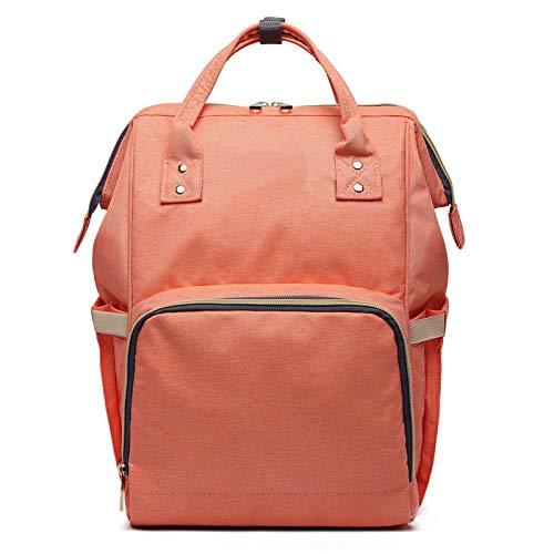ForteGlo Others - Fashion Mummy Maternity Nappy Bag Brand Large Capacity Baby Bag Travel Backpack Designer Nursing Bag for Baby Care 1 PCs -