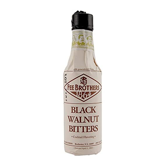 Fee Brothers Black Walnut Bitters 5oz 2 Crafted by the mixology experts at Fee Brothers. Brings a robust nut flavor to the spice rack behind your bar. Adds complexity to your cocktails.