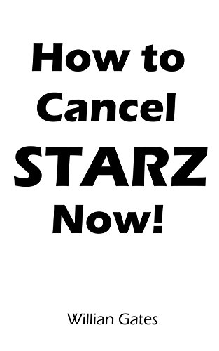 How to Cancel STARZ subscription within 2 minutes: A Step by step Guide to Cancel STARZ subscription with Screenshots.