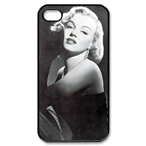 CoverMonster Marilyn Monroe Hard Case Cover Skin for Iphone 4 4s