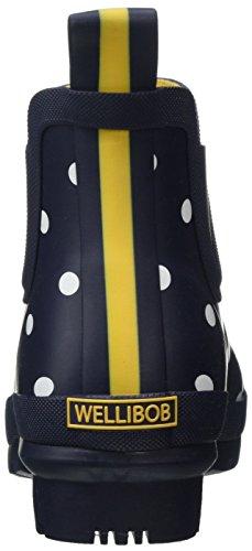 Fnavspt Spot Wellibob Navy Blu Donna Joules french Stivaletti pgCHS6q