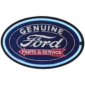Garage Sign (Ford LED Lighted Sign, 16
