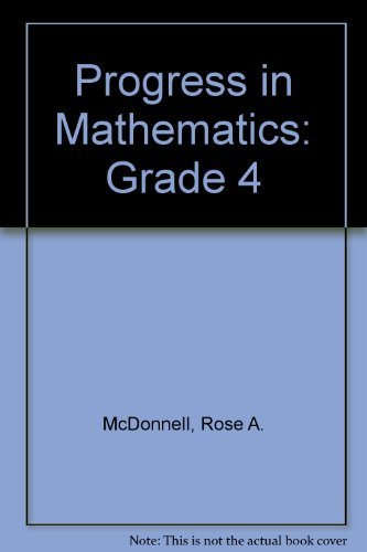 Progress in Mathematics: Grade 4