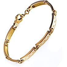 Korloff 18K Yellow Gold Enamel Bracelet