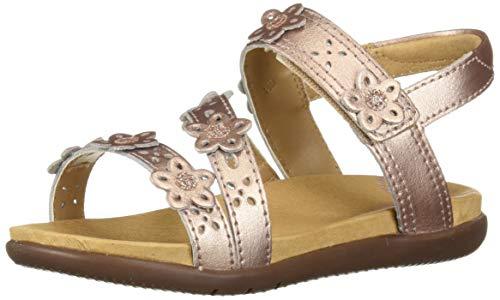 Stride Rite SRTech Evie Girl's Embellished Sandal, Rose, 8 M US Toddler