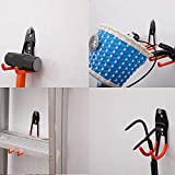 Xisheep 10-Pack Steel Garage Storage Utility Double Hooks Heavy Duty for Organizing Powe, Tools, Home Improvement, Metal