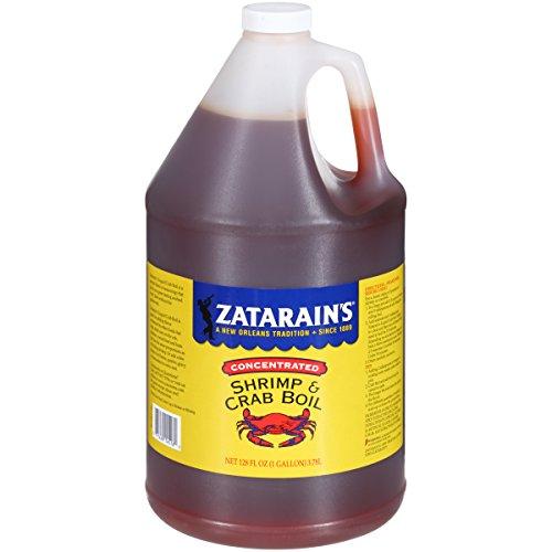 Crab Seasoning (Zatarain's New Orleans Style Crawfish, Shrimp & Crab Boil, 128 fl oz)