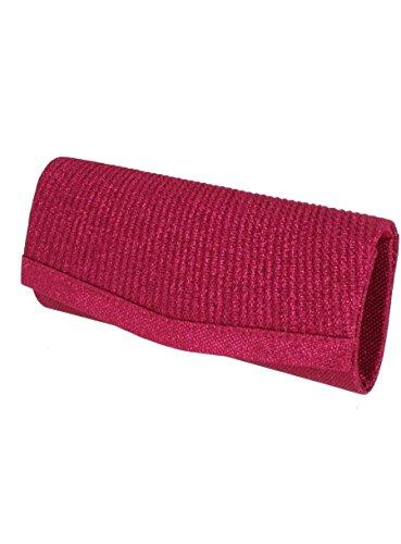 Boutique Mujer Cartera Magique para Fucsia Rosa Mano de Rosa rq4rXxPwgd