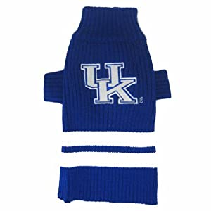 "University of Kentucky Wildcats Knitted Turtleneck Pet Sweater (Small (8""- 12""))"