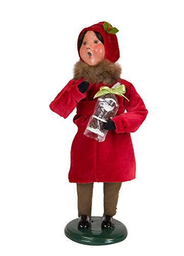 Byers' Choice Victorian Family Girl Caroler Figurine #113G from The Specialty Families Collection (New 2018) - Victorian Collection Kitchen