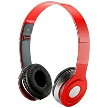SoundStrike 3.5mm Foldable Headphone Headset for Dj Headphone Mp3 Mp4 Pc Tablet sandisc Music Video and All Other Music Players (Roit W/Mic)