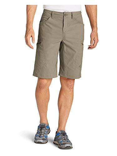 Eddie Bauer Men's Guide Pro Shorts, Lt Khaki Regular 44