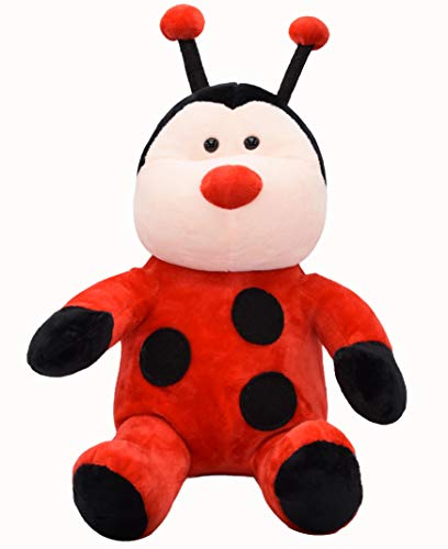 Cuddly Ladybug Stuffed Animal with Tiny Red Nose and Long Lovely Antenna| Soft and Adorable Toys| Super Cute Ladybird…