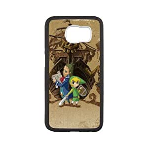 The Legend Of Zelda 9 33 funda Samsung Galaxy S6 Cubierta blanca del teléfono celular de la cubierta del caso funda EVAXLKNBC14758