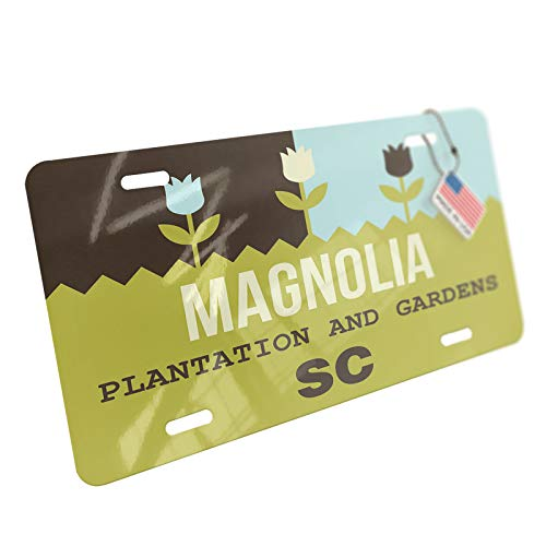 - NEONBLOND US Gardens Magnolia Plantation and Gardens - SC Aluminum License Plate