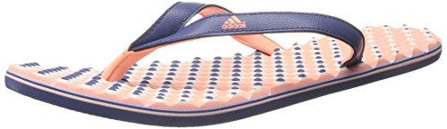 adidas Performance Women's Eezay Dots W Athletic Sandal,Raw Purple/Sun Glow Yellow/Glow Purple,9 M US