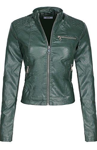 Silver Bike Leather Jacket - 7
