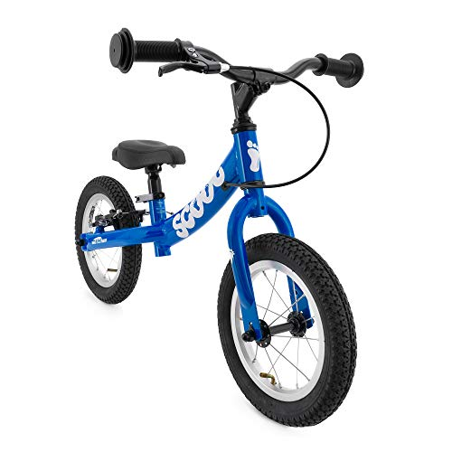 Scoot 12' Balance Bike in Matte Blue