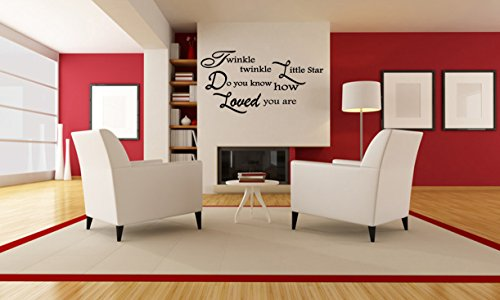 Vinyl Cullen (LITTLE STAR QUOTE Cullen Quote Wall Decal Vinyl Wall Art Saying (FA247) (40