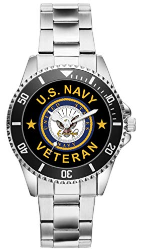 (Gift for US Navy Veteran Military Soldier Watch 6504)
